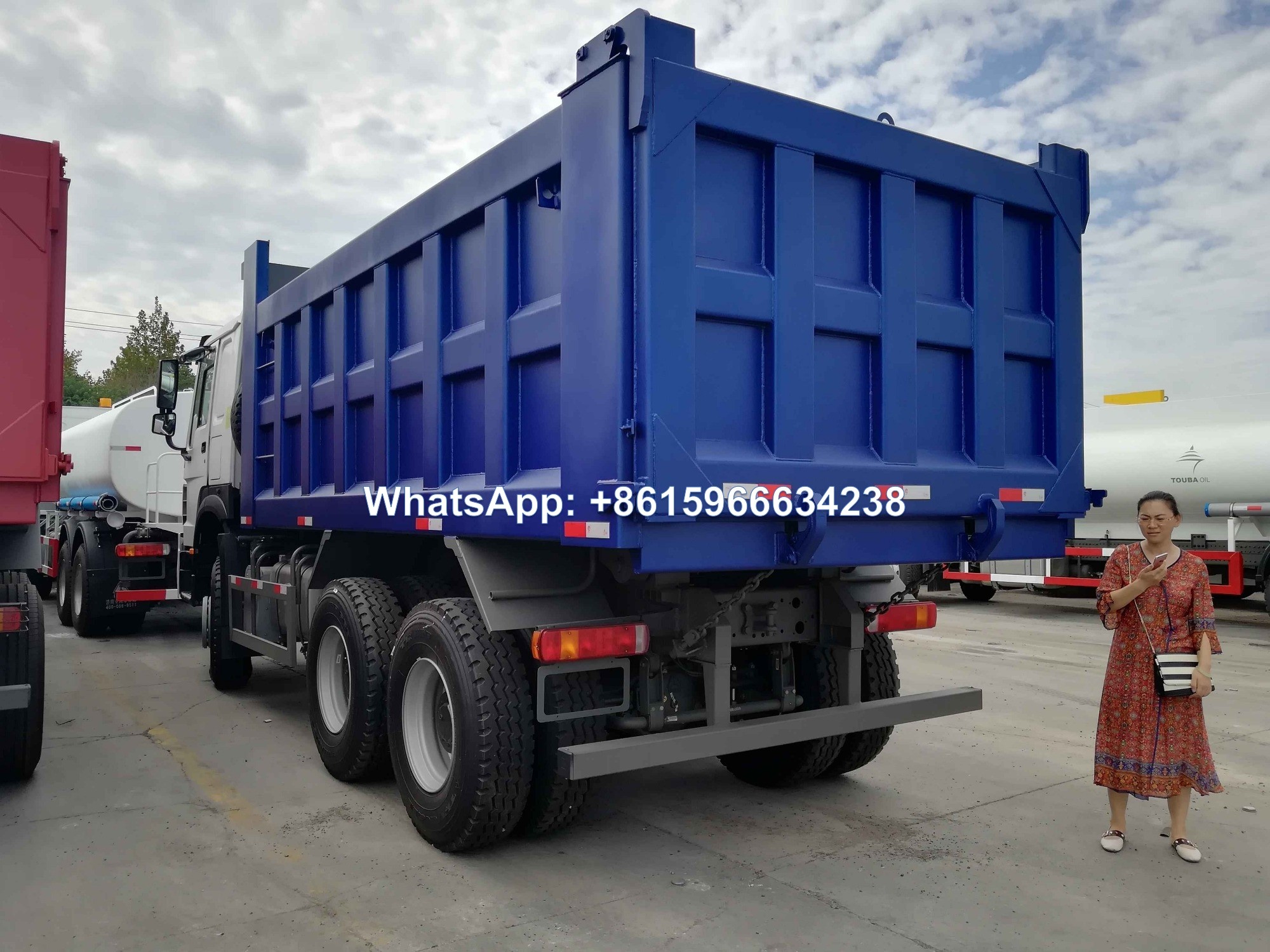 Sinotruk Howo 371 6x4 30 Ton 10 Wheel Dump Tipper Truck
